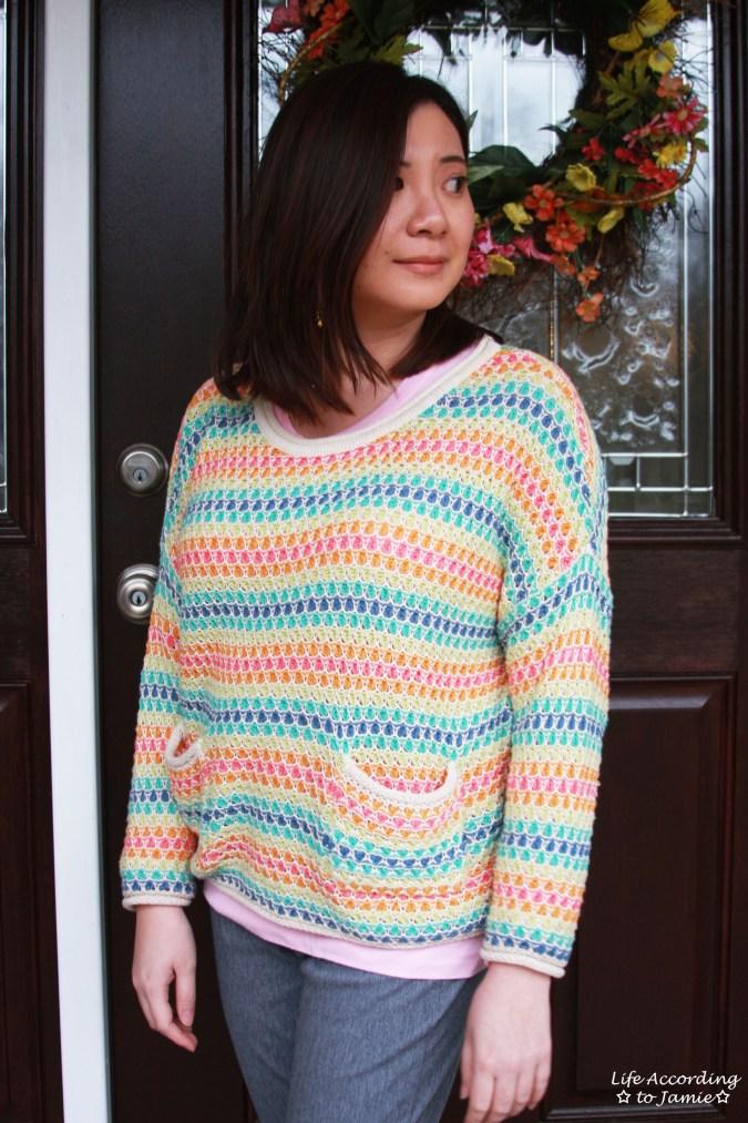 Rainbow Breezy Pullover 6
