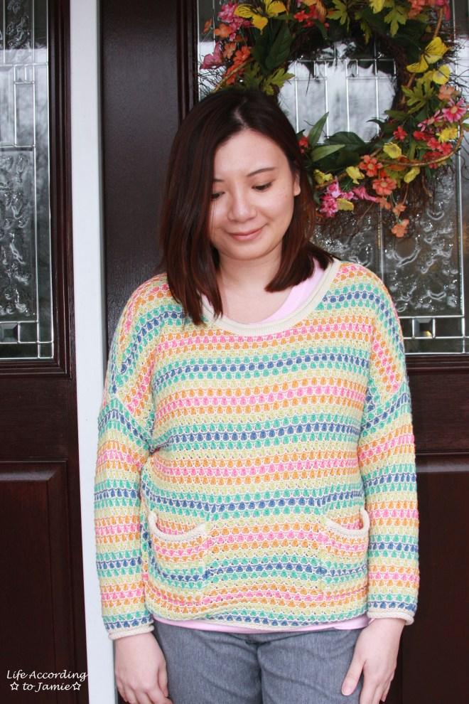 Rainbow Breezy Pullover 7