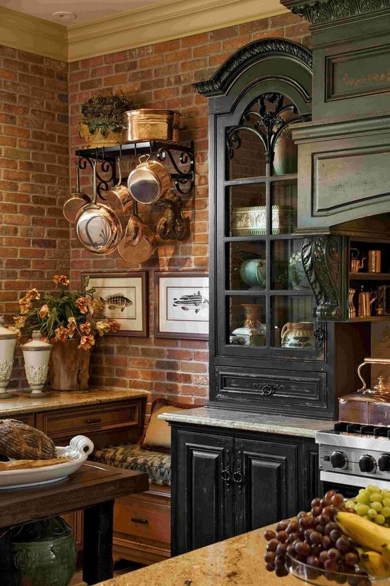 Rustic French Country Kitchen