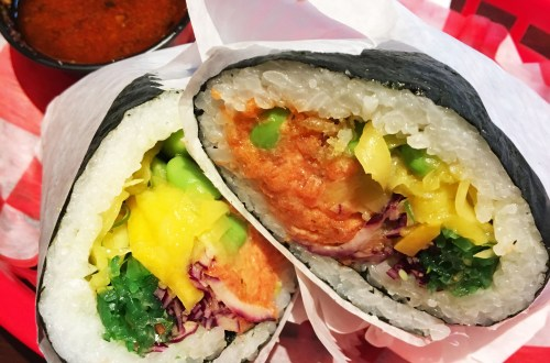 Spicy Tuna Sushi Burrito