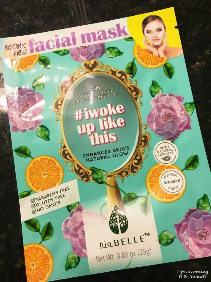 Biobelle #iwokeuplikethis face mask