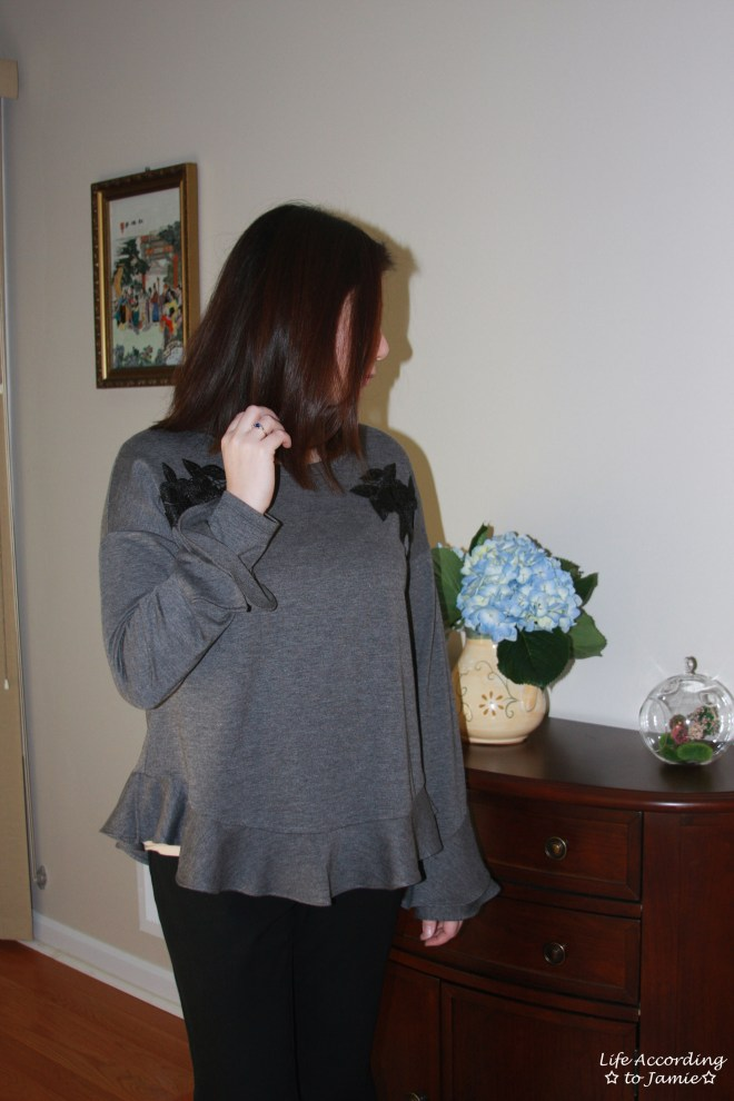 Floral Appliques + Bell Sleeves 4