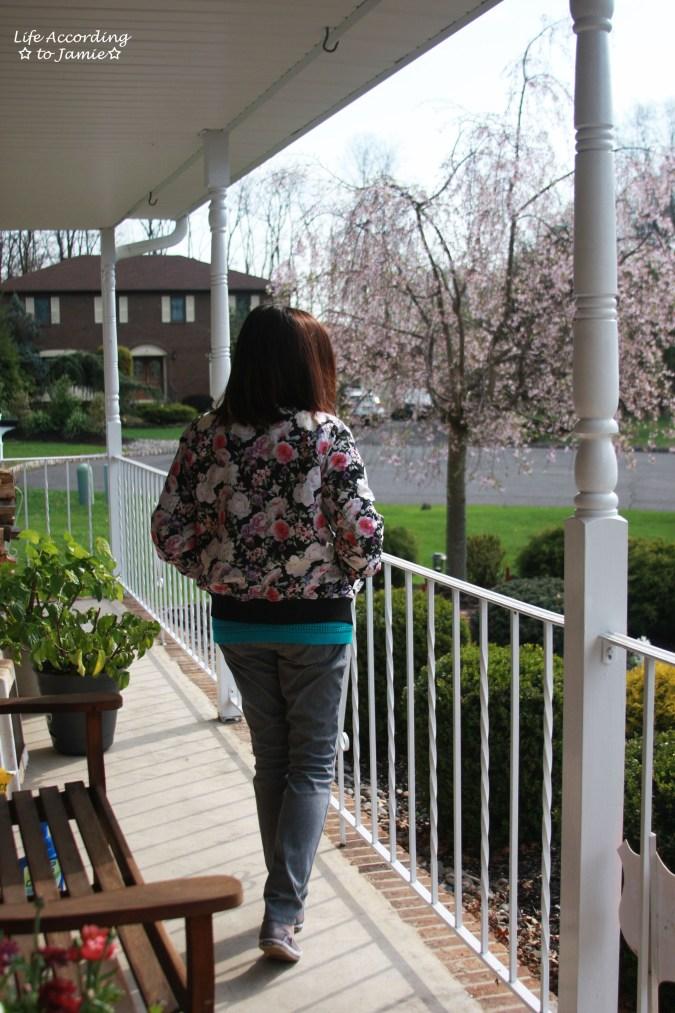 Floral Bomber Jacket 1
