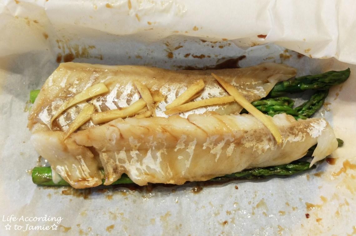 Parceled Cod + Asparagus