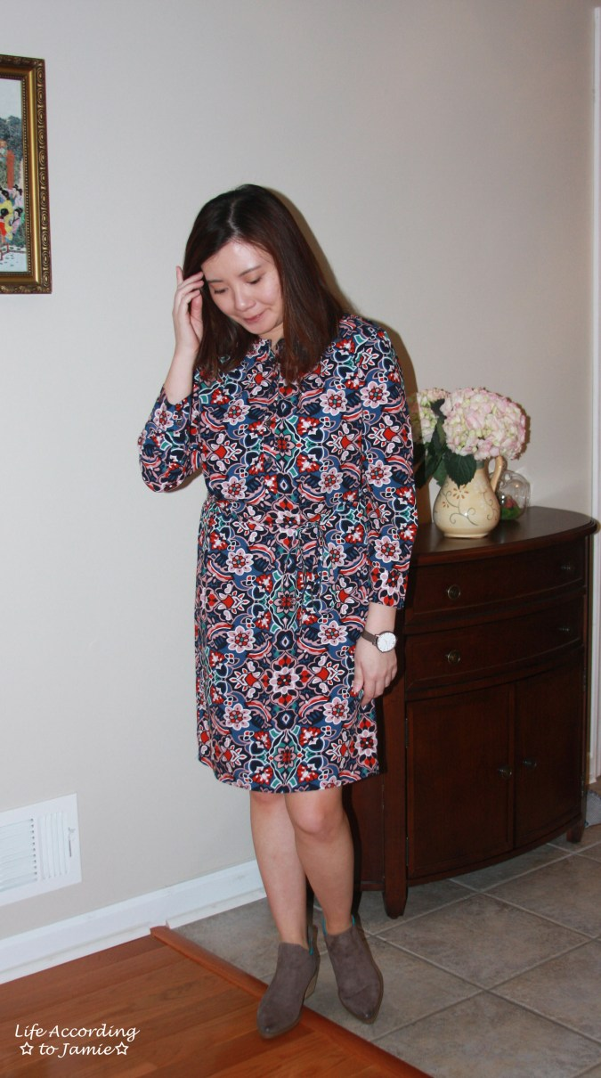 Stained Glass Shirt Dress 3