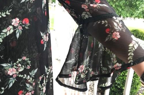 Apple Print + Lace