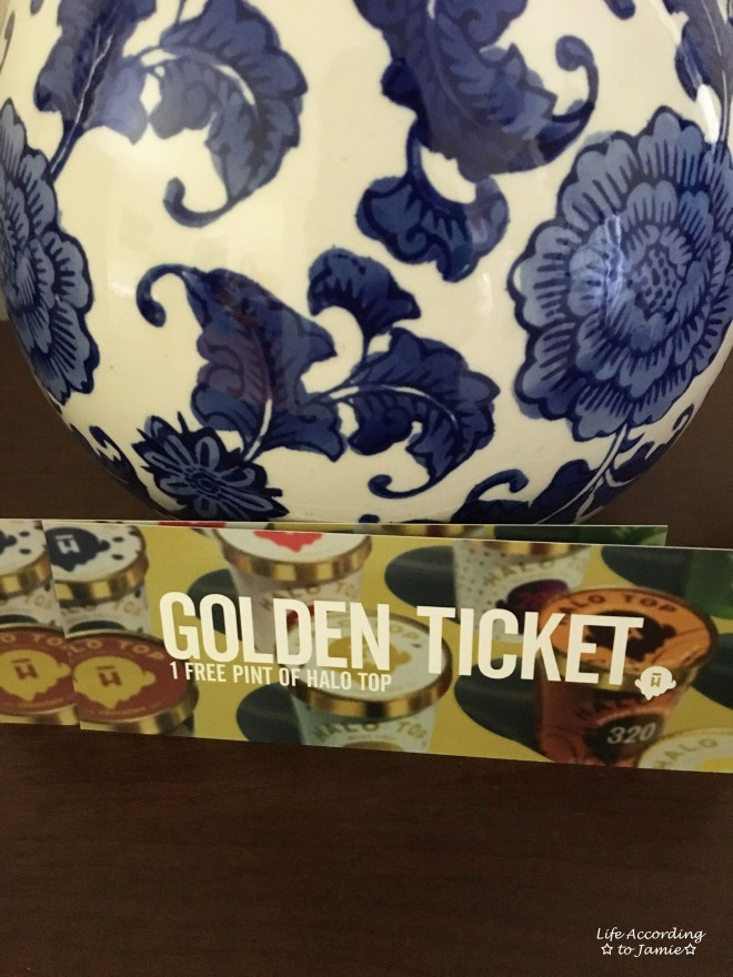 Halo Top Creamery - Golden Ticket