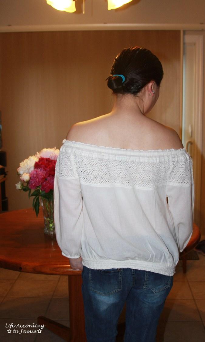 OTS Crochet Top 2