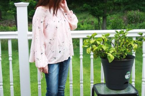 Pink Floral OTS