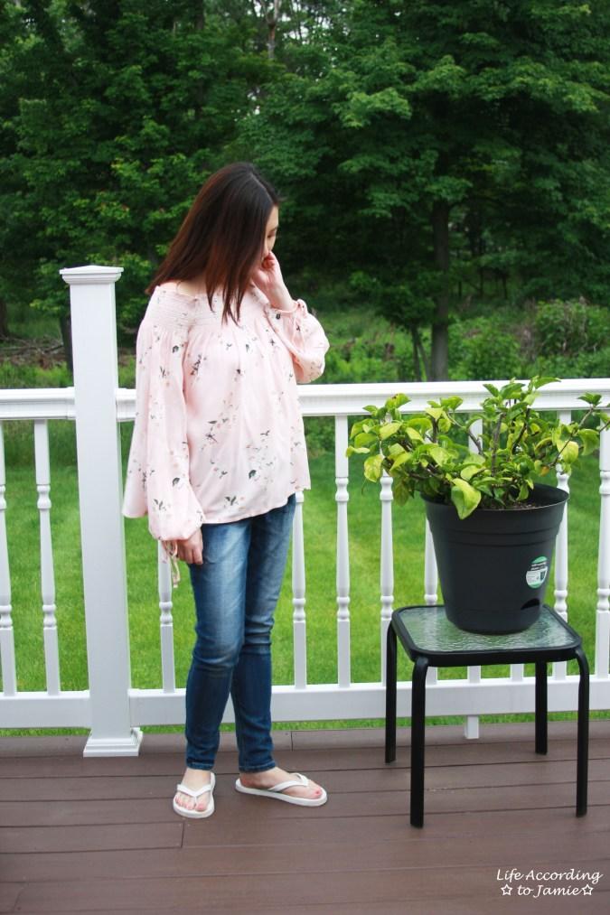 Pink Floral OTS 1