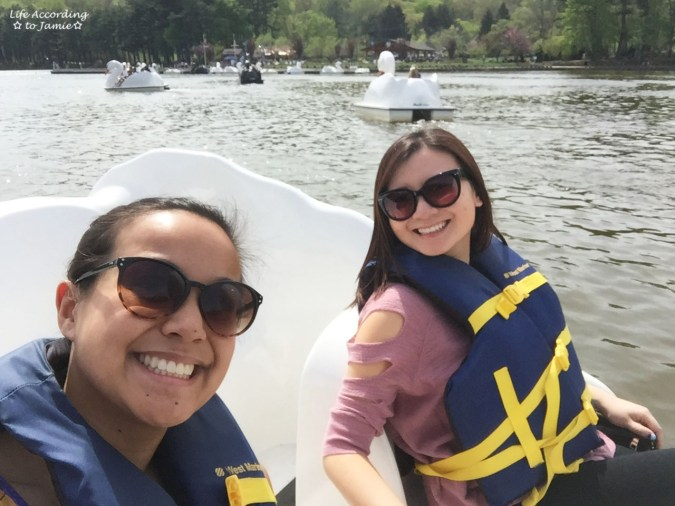 South Mountain Reservation - Paddle Boating