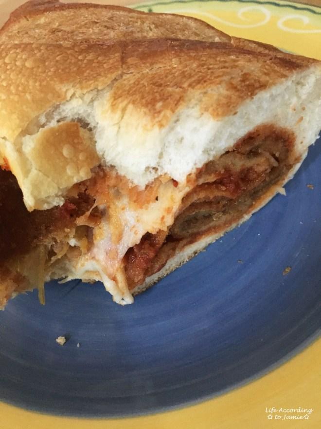 Eggplant Parm Sandwich