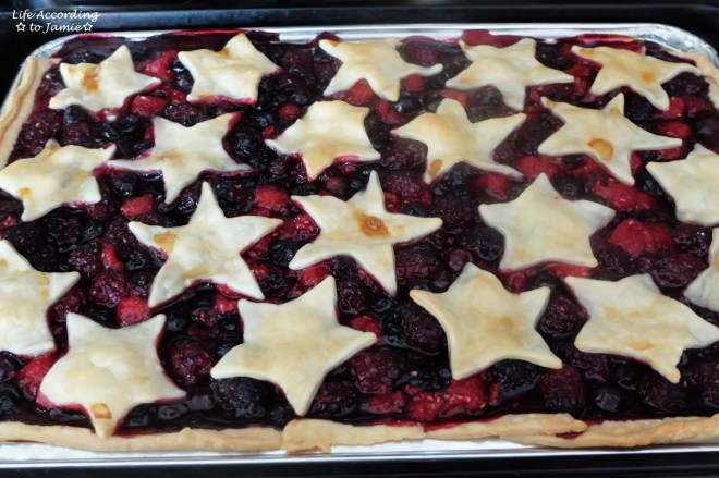Mixed Berry Slab Pie 4