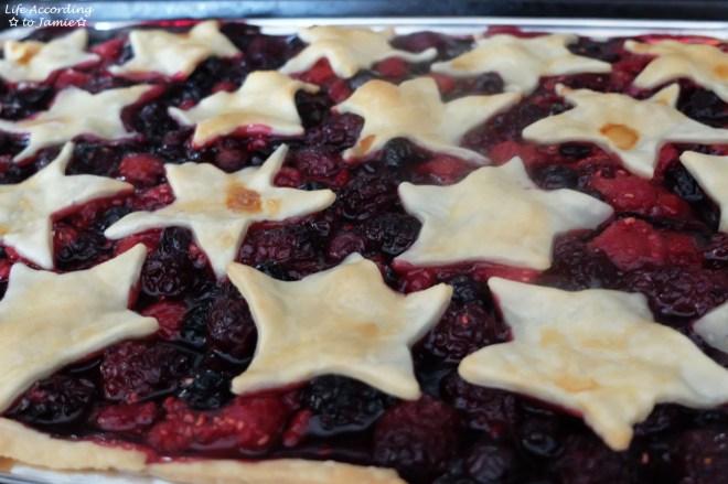 Mixed Berry Slab Pie 5