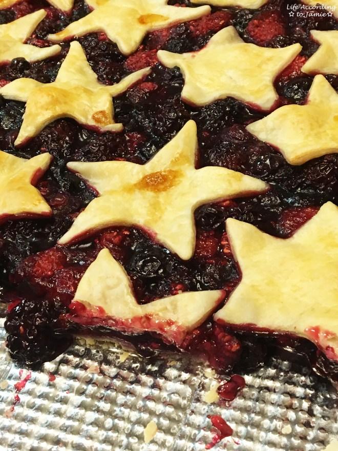 Mixed Berry Slab Pie 7