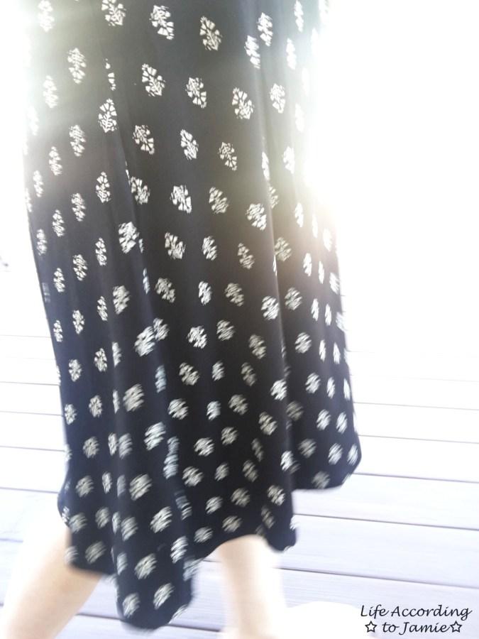 Patterned Swing Dress 9