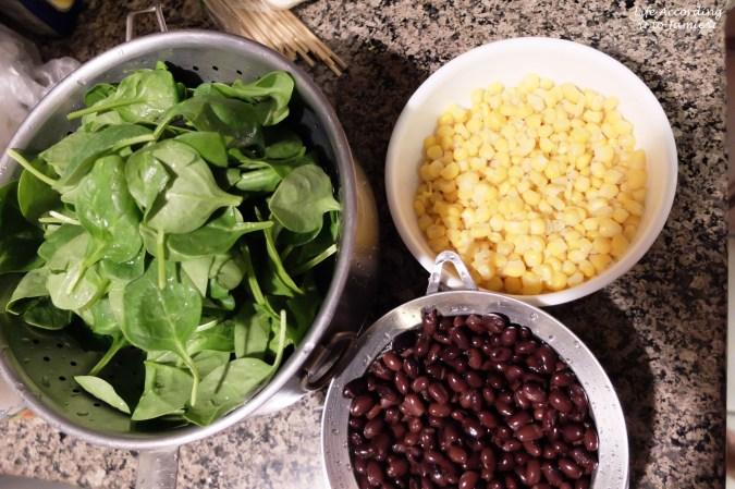 Quinoa Spinach Salad