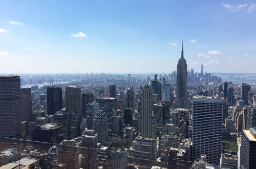 Top of the Rock - Empire State Building View