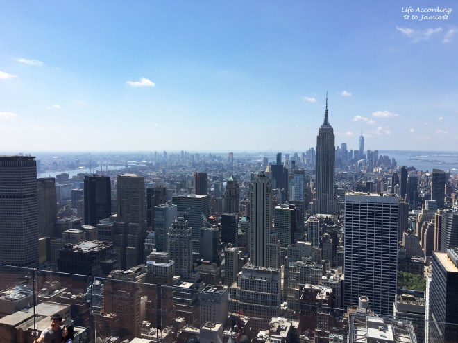 Top of the Rock - Empire State Building View 1