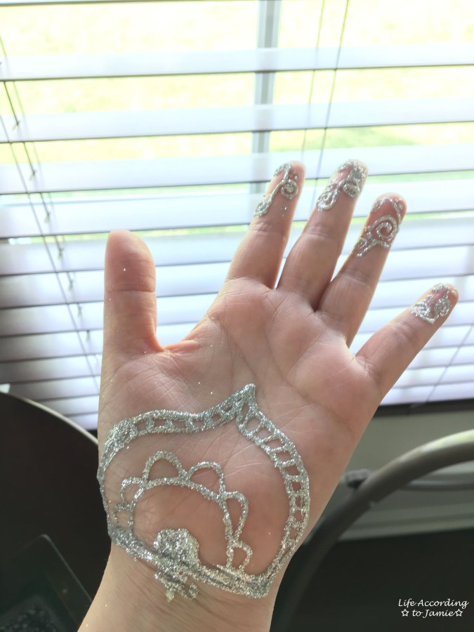Earth Henna - White Lace 3