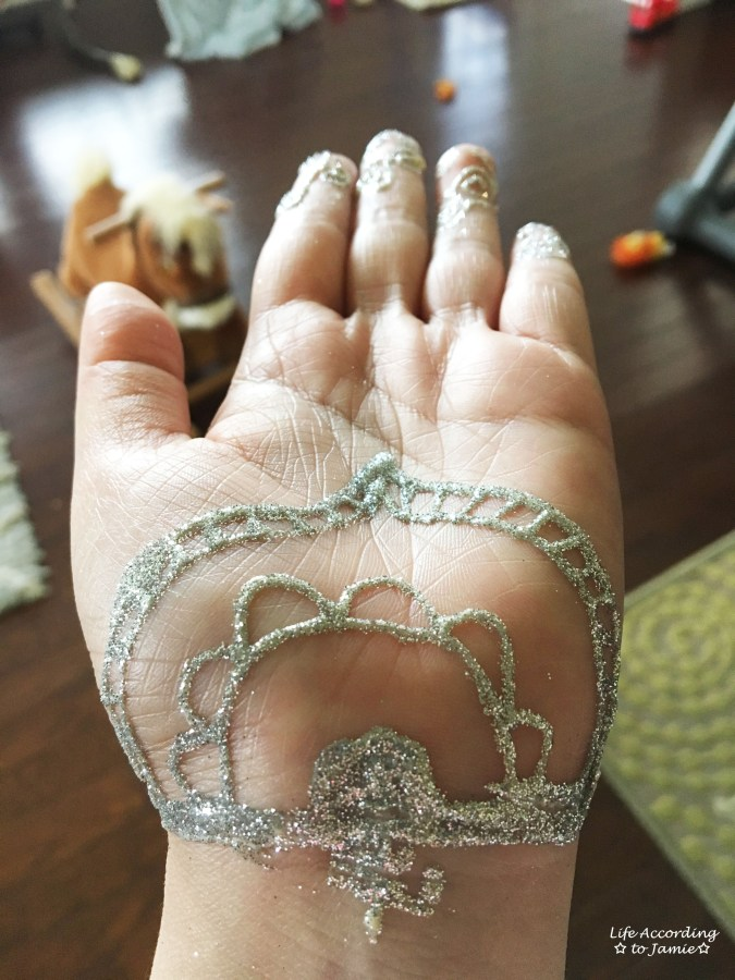 Earth Henna - White Lace 7
