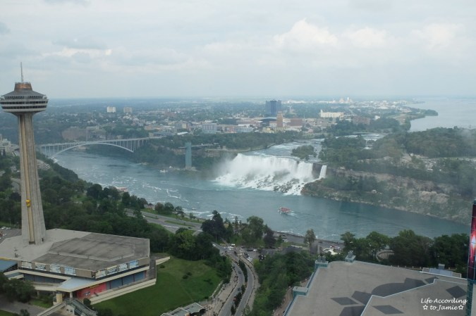 Niagara Falls - Hilon Fallsview View