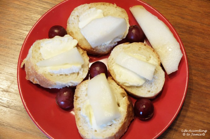 Pear + Brie Baguette