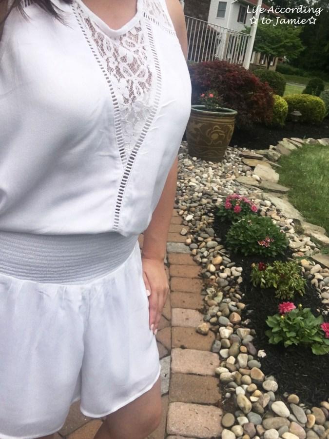 White Lace Romper 6