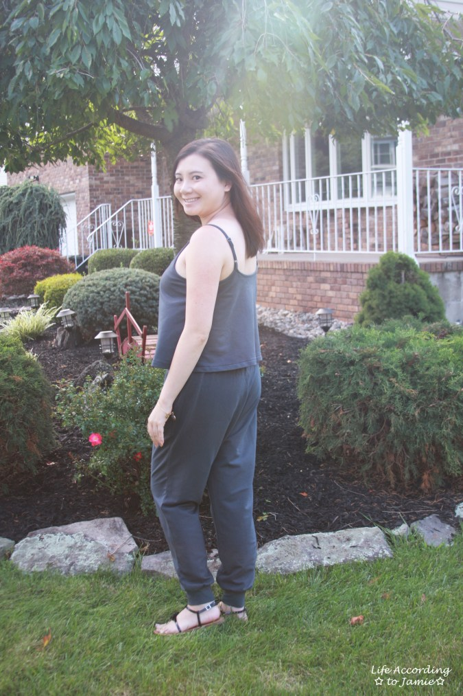 Grey Cami Jumpsuit 4