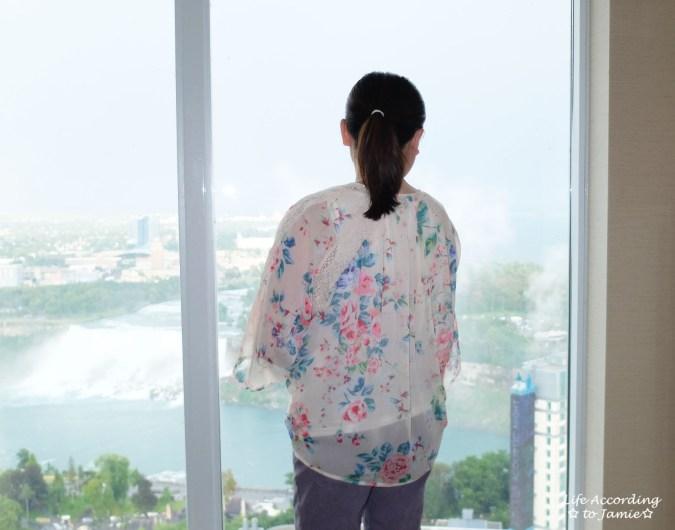 Jacquard Crop Pants + Floral Kimono 2