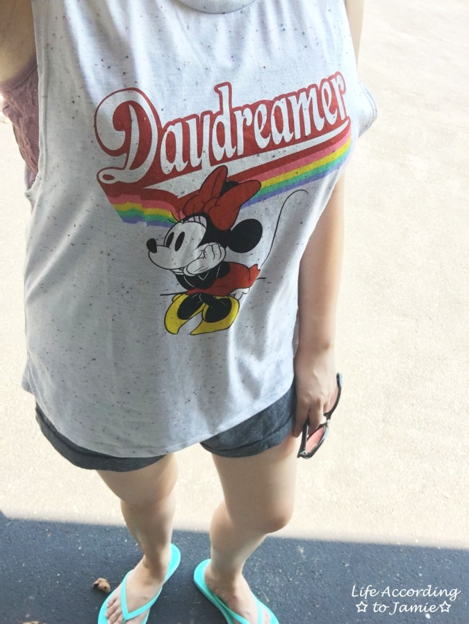 Minnie Mouse Daydreamer - Muscle Tank 2