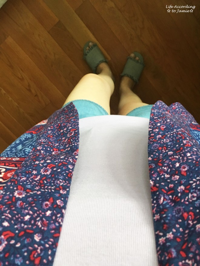 Patchwork Kimono + Tencel Shorts 5