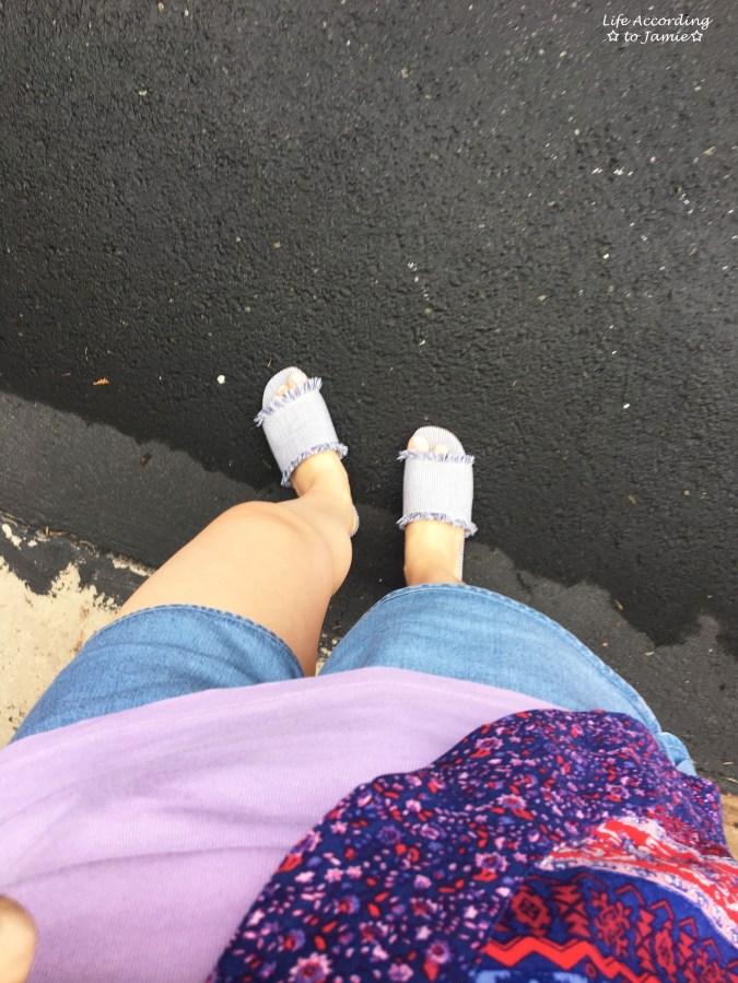 Patchwork Kimono + Tencel Shorts 7
