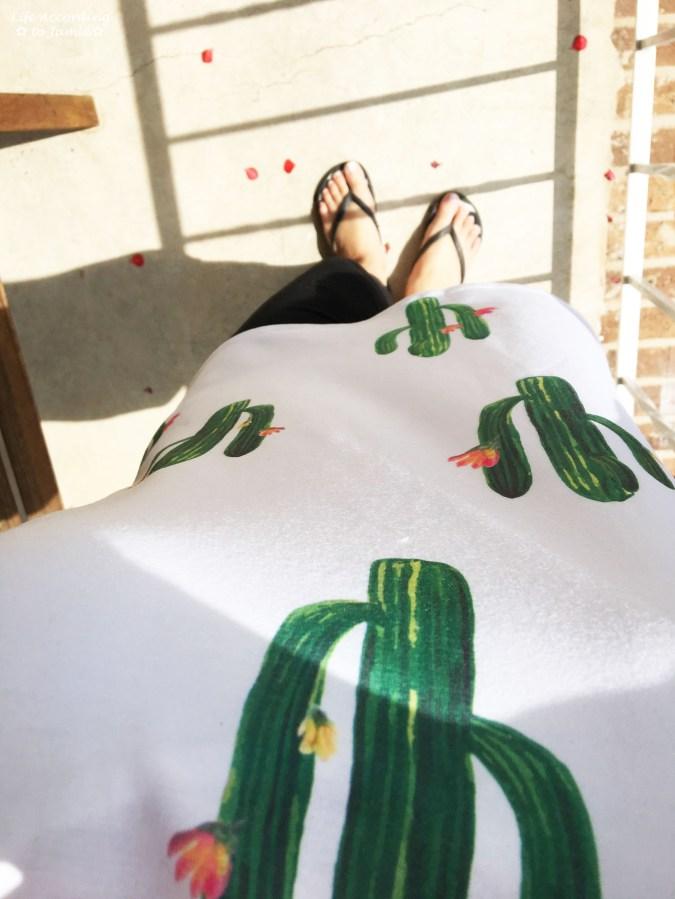 Pop Art - Green Cactus Tee