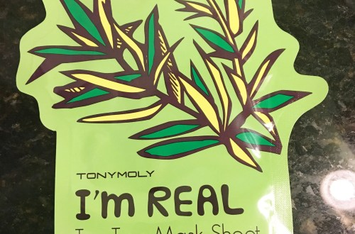 Tony Moly Sheet Mask - Tea Tree