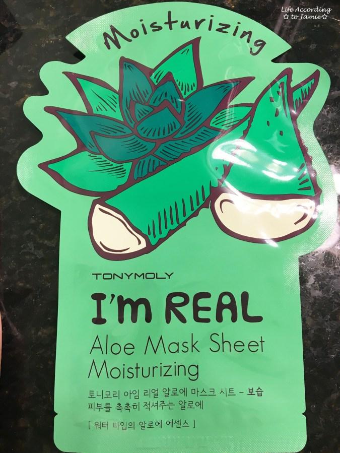TonyMoly Sheet Mask - Aloe