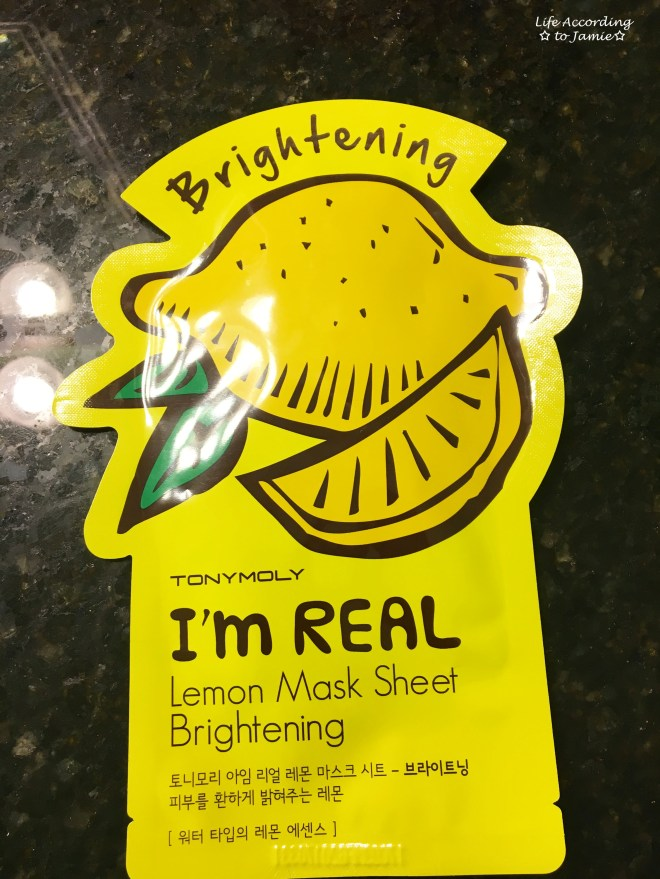 TonyMoly Sheet Mask - Lemon