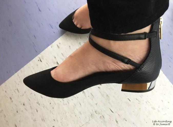 Aldo - Metal Heel Shoes