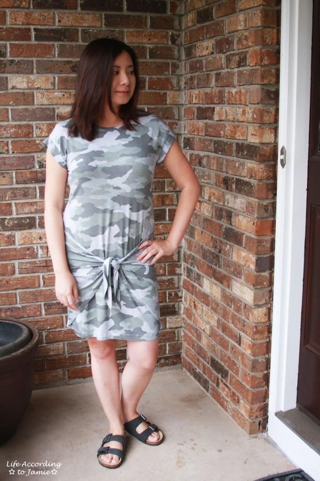 Camo Twist Dress 6