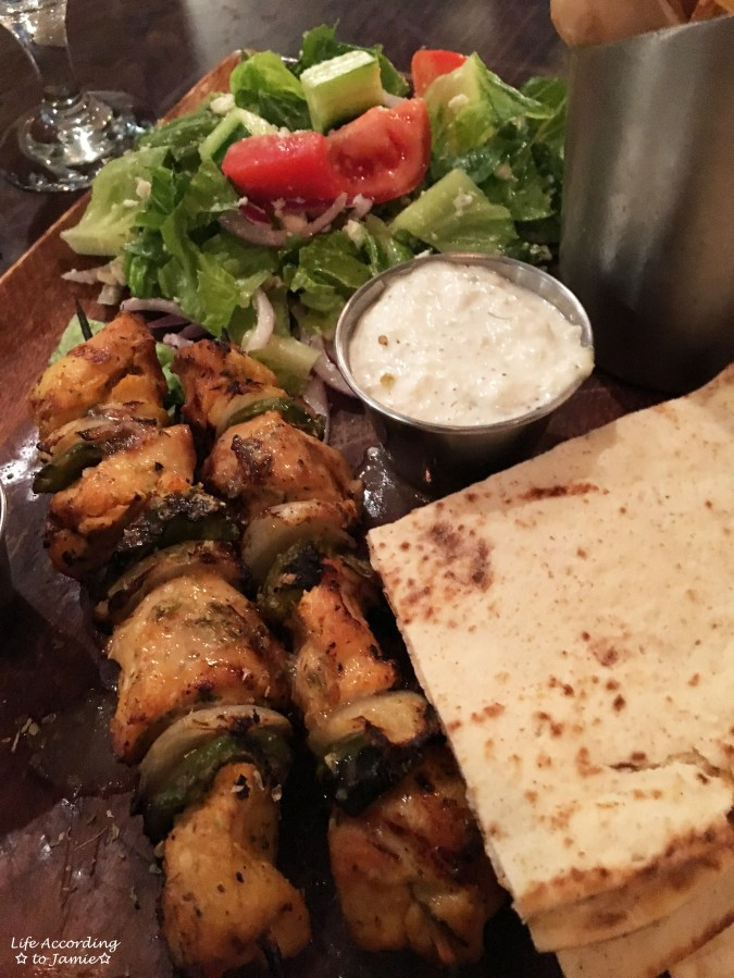 Kyma - Chicken Souvlaki 1