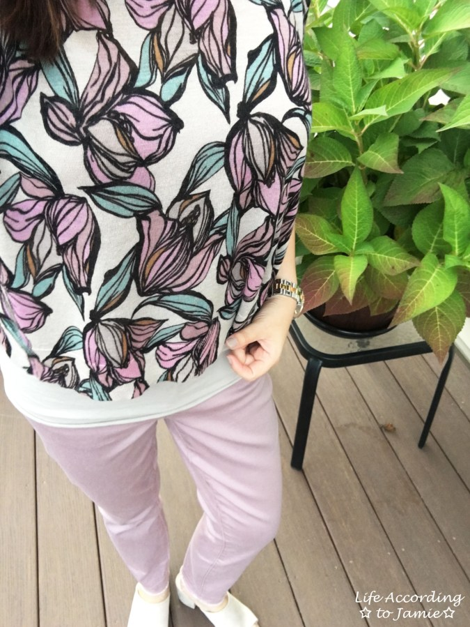 Wild Orchid Drapey Sweater 10