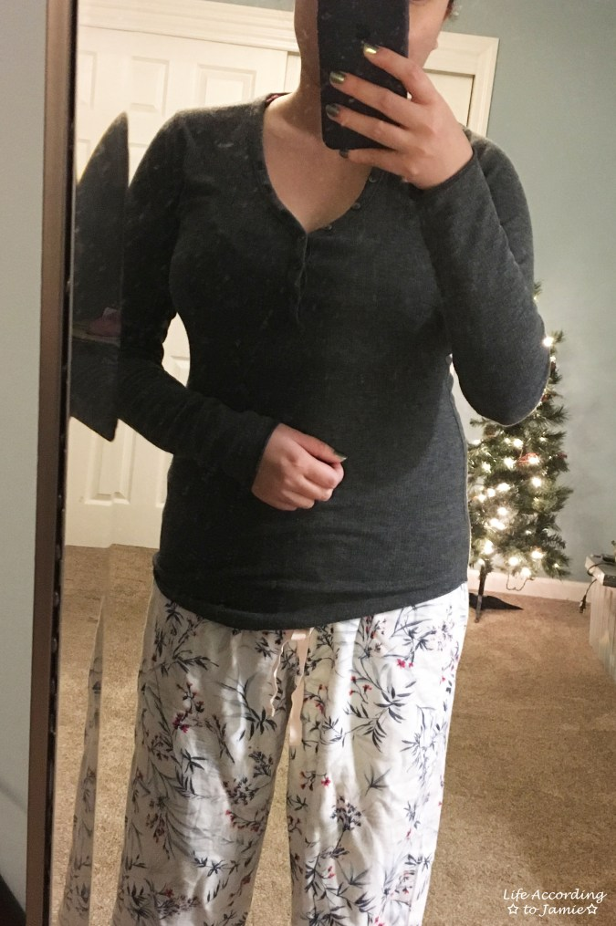 Gap Henley Pajama Top
