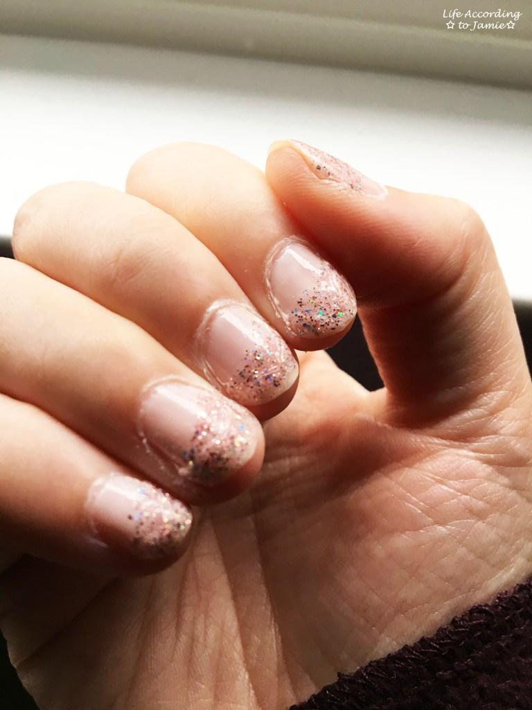 Nails - Sugar Coat & Strobe Light