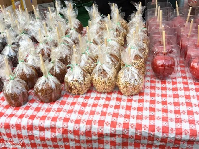 Peddler's Village - Apple Festival Caramel Apples
