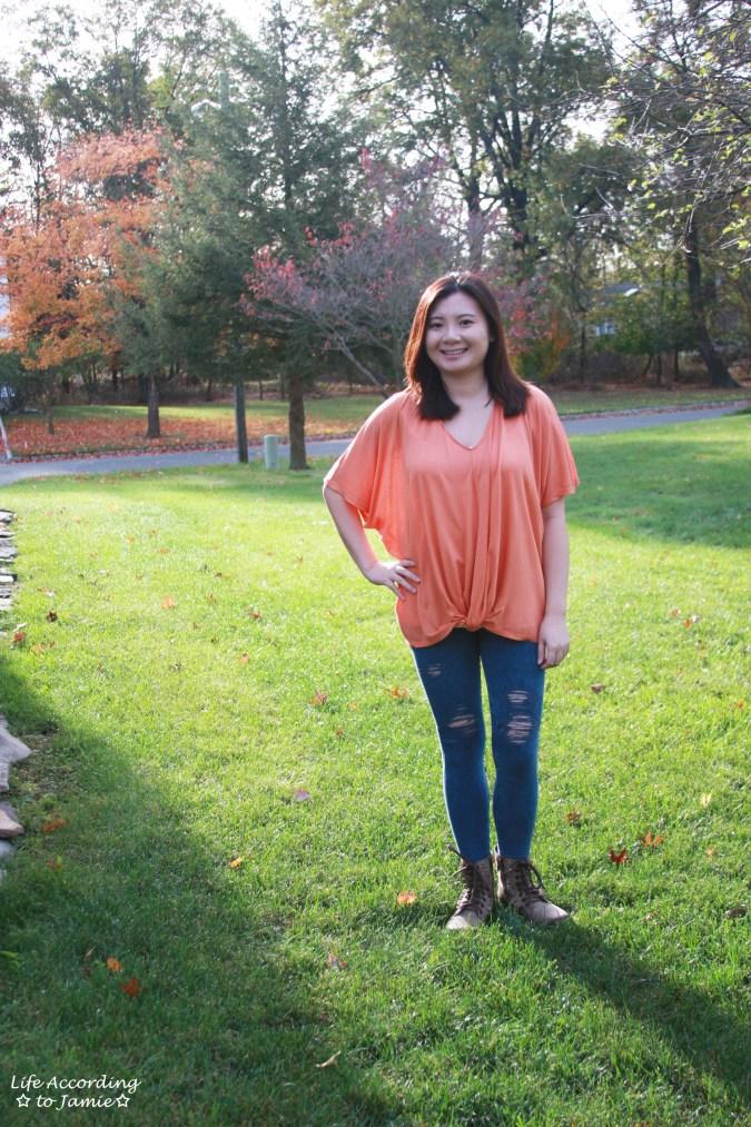 Sweet Pumpkin Twisted Tee 4