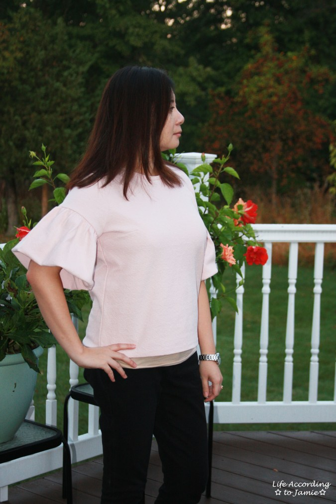 Textured Short Bell Sleeves 8
