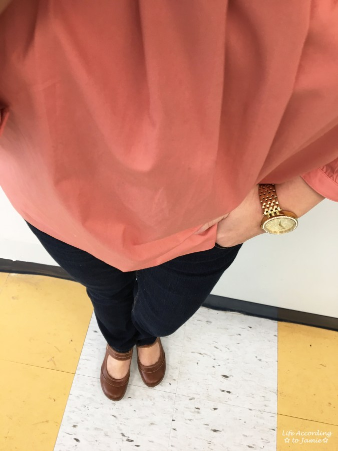 Copper Rose Peasant Top 3