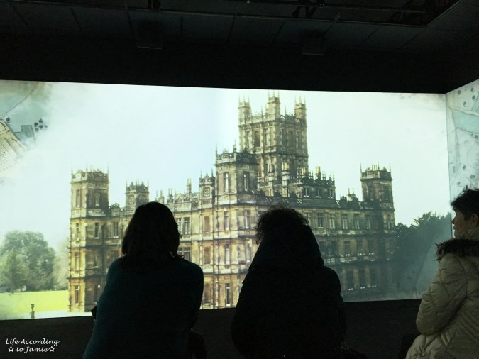 Downton Abbery - The Exhibition - Video Room