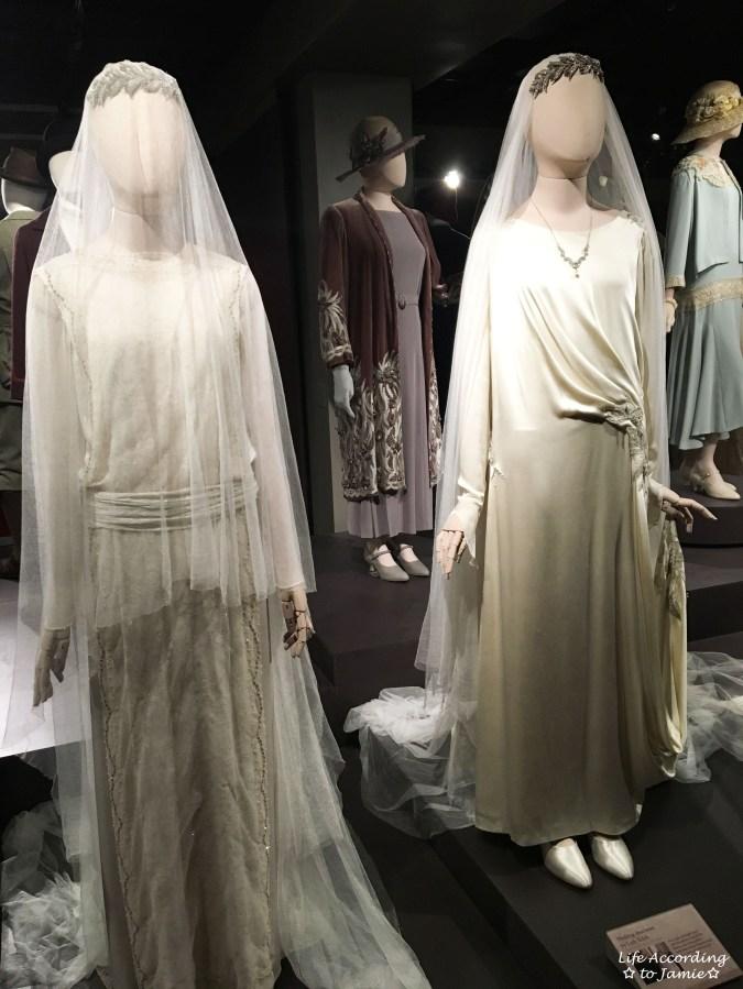 Downton Abbery - The Exhibition - Wedding Dresses