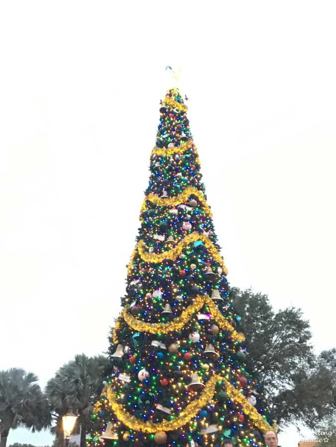 Epcot - Christmas Decorations 2